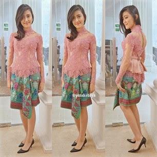Model Kebaya Modern Tahun 2016 Simple dan Elegan