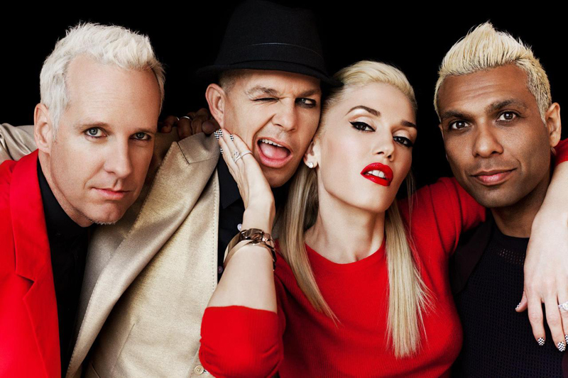 Gwen Stefani No Doubt shoot