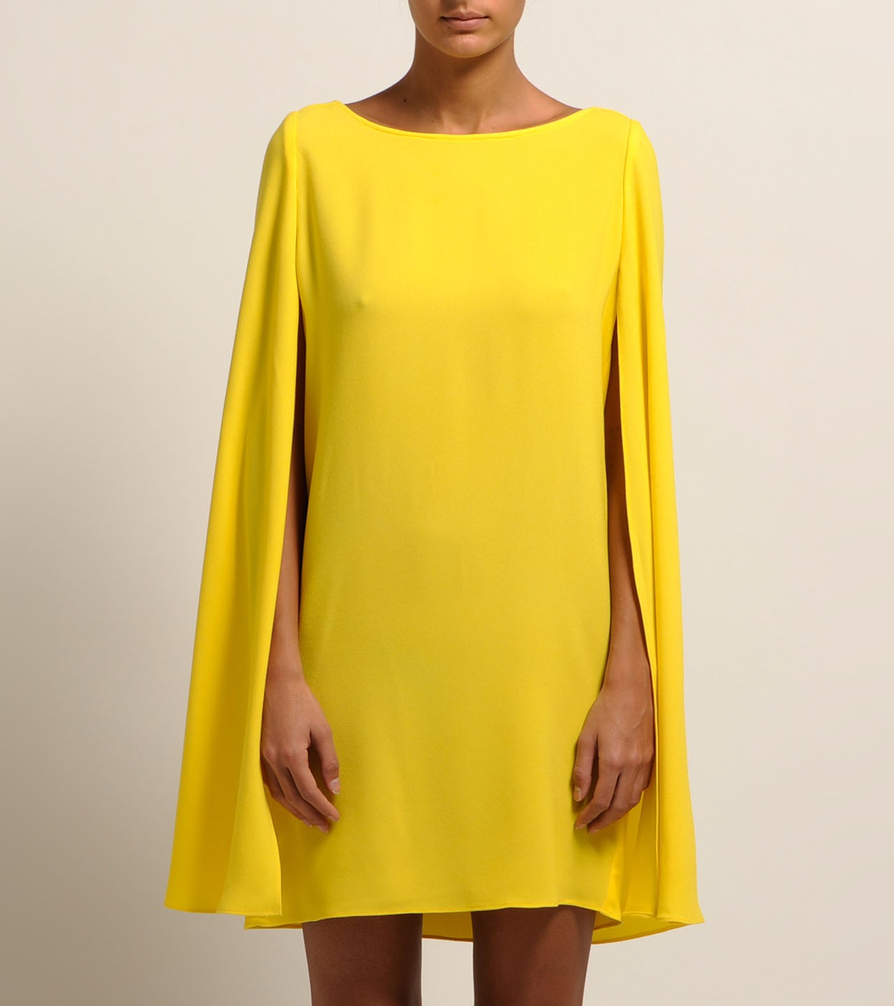 Source google yellow cape dress rm55 brand new fits up to uk10