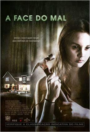 """Poster do filme """"A Face do Mal"""""""