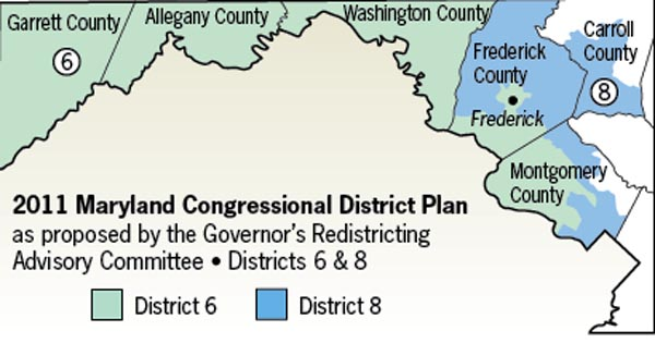 Thoughts About K4D On the Maryland 6th Congressional District