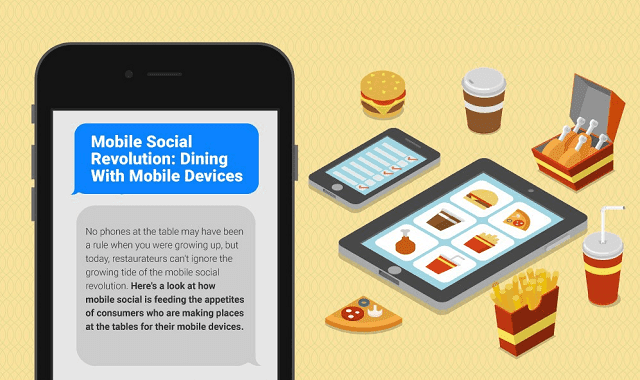 Mobile Social Revolution: Dining With Mobile Devices