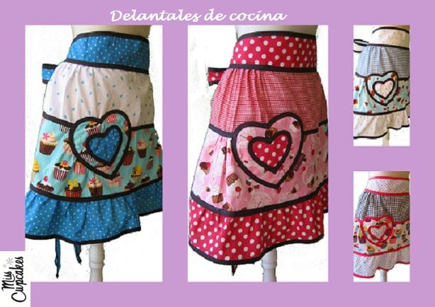 Miss cupcakes delantales de cocina y accesorios for Delantales de cocina
