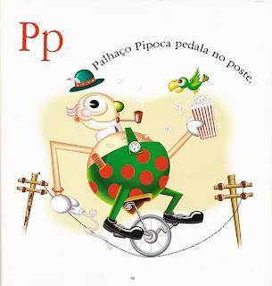 Palhaço Pipoca pedala no poste