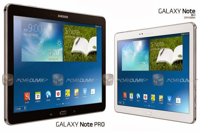 Harga dan Spesifikasi Samsung Galaxy Note Pro