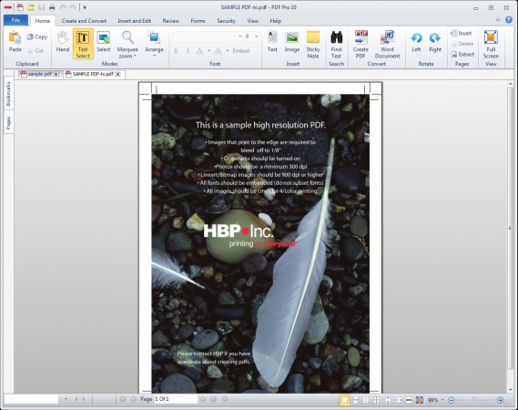 Adobe acrobat PDF Pro 10