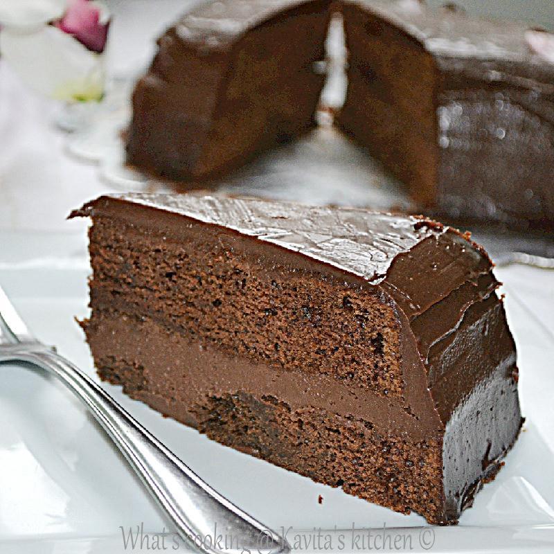 Food Network Chocolate Cake Ganache
