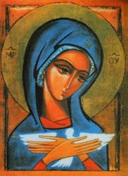 Ikona Maryi - Oblubienicy Ducha Świętego