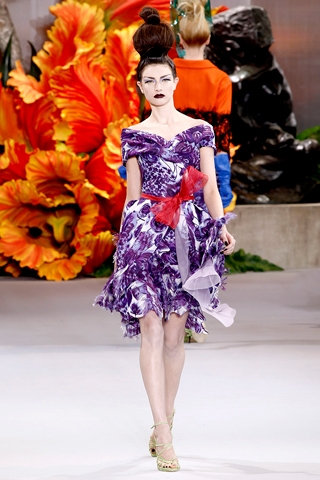 Purple Iris Wildflower inspired blouseArt, fashion illustration, flower, Flower Inspired, Purple Iris, Wildflower