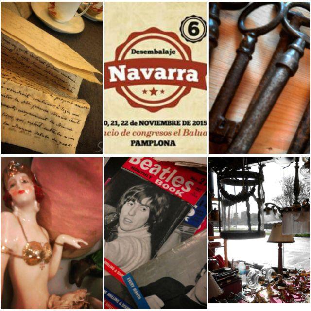 feria de desembalaje de antigüedades de Navarra