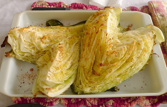Roasted Caraflex cabbage