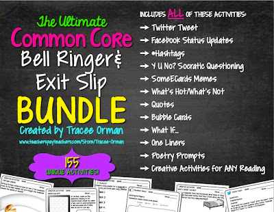 Huge bundle of bell ringers and exit slips; more than you need in a year!