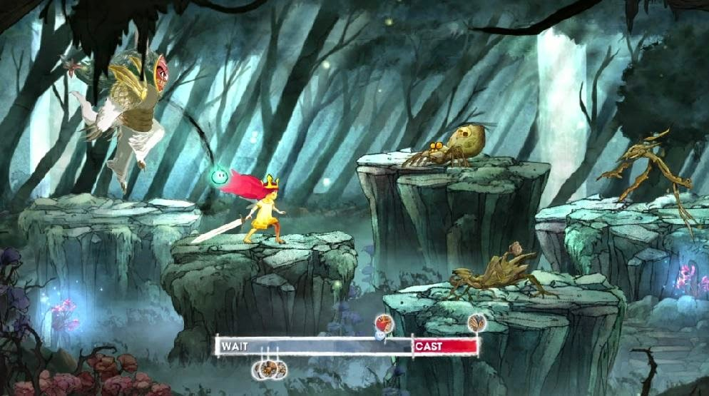 Child of Light Platformer