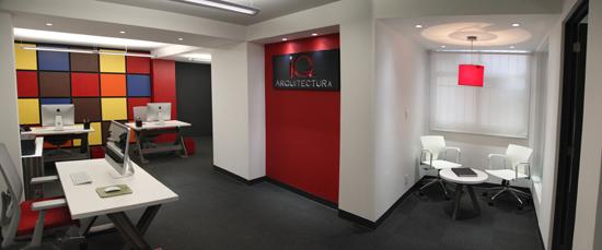 Podio oficinas iq arquitectura for Espacios de oficinas arquitectura