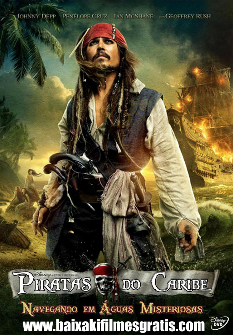 Piratas do Caribe 4 Dublado