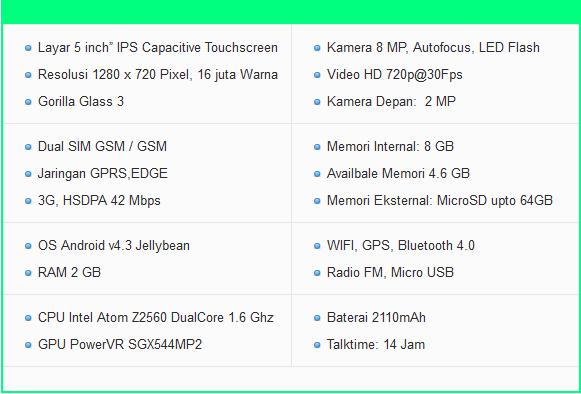 Harga dan Spesifikasi Hp Asus Zenfone 5 Terbaru