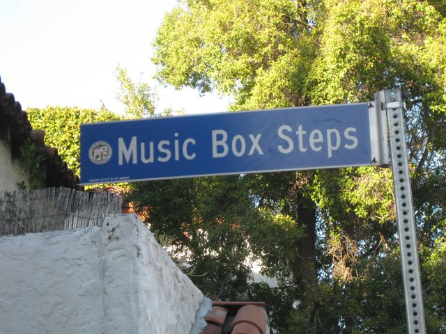 The Music Box Steps Is A Set Of Outdoor Stairs In The Silverlake District  Of Los Angeles. The Stairs Were Made Famous By The Laurel And Hardy 1932  Short ...