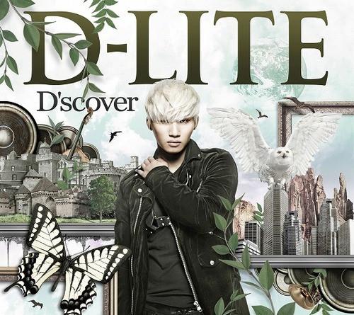 Big Bang's Daesung aka D-Lite D'scover album art