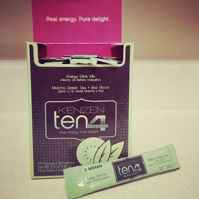 Kenzen Ten4 de Nikken: Un thé matcha à saveur de kiwi que vous allez adorer!