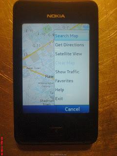 Nokia Asha 501 Google Maps