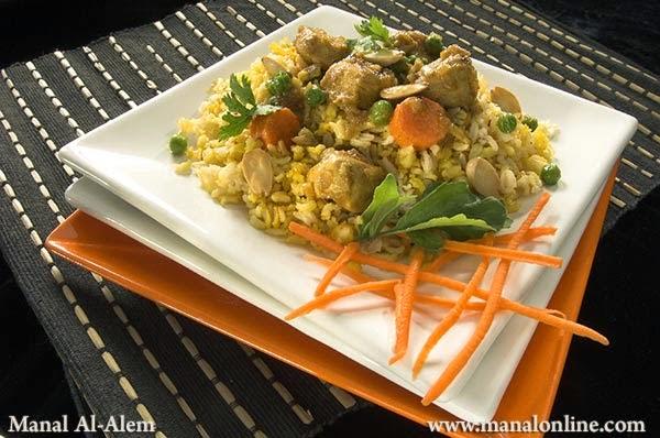 برياني الدجاج بالأرز الكامل