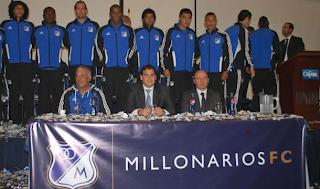 Millonarios presentó el Equipo Oficial del 2012