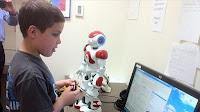 Interactive robot helps kids with autism