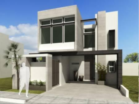 Fachadas Contemporáneas Elegante Casa Con Fachada Contemporánea
