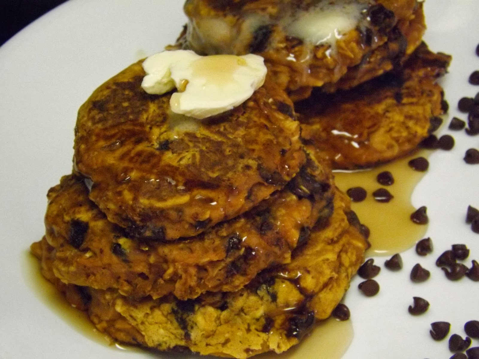 zucchini bread pancakes and carrot cake pancakes were also delicious
