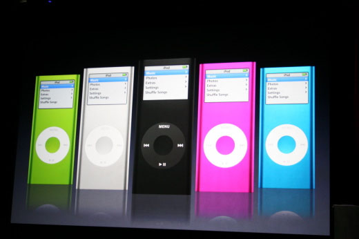IPod Nano generations second generations new york usa