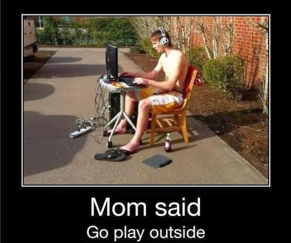 Go play out Side