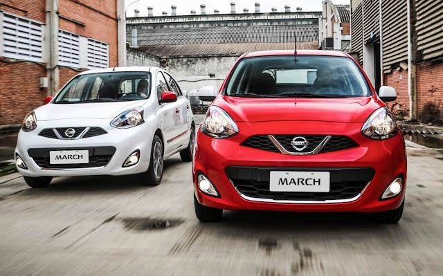 Nissan March 2016 Colors