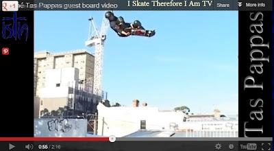 Tas Pappas, Ben Pappas, Skateboarding Videos