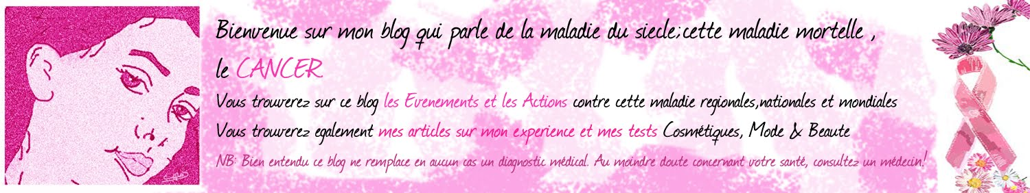 Blog d'une patiente contre le Cancer