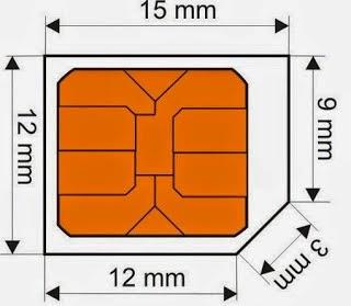 Cara Memotong Kartu Sim Micro 1