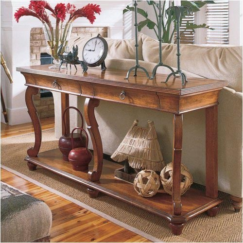 Sofa table decorating ideas for Table design tips