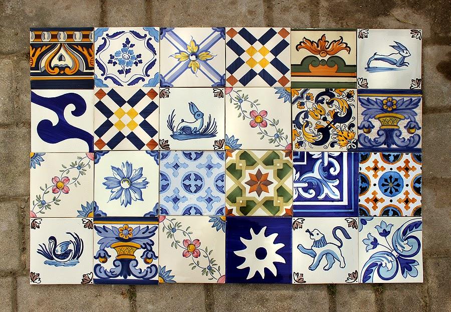 Azulejaria portuguesa santiago azulejos pintados - Copia de azulejos ...