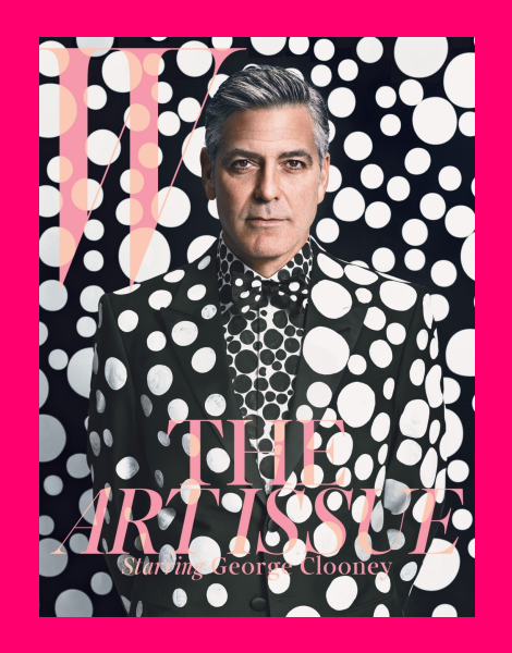 George Clooney by Emma Summerton for W Magazine Dec 2013