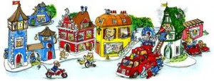 Google Doodle Honors Richard Scarry's 92nd Birthday