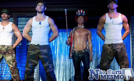 1 foto oficial do filme de strippers Magic Mike!