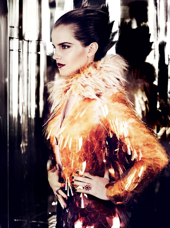 emma watson vogue 2011. VOGUE US July 2011 - Emma