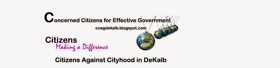 Concerned Citizens for Effective Government (DeKalb Georgia)