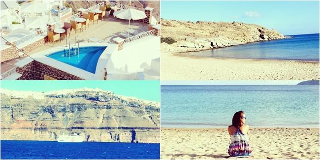Instagram @lelazivanovic. Santorini 2015. Plakes beach, Ios, Greece.