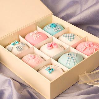 Lembrancinha de Maternidade: cupcakes