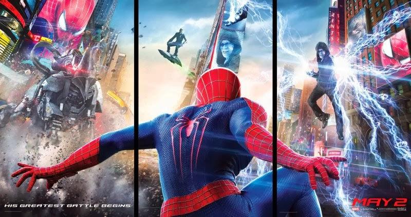 El poster de The Amazing Spider-Man 2: El poder de Electro
