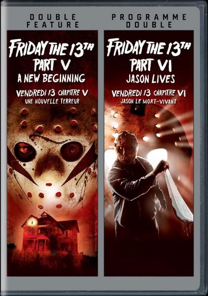 Viernes 13 – Parte 5 & Viernes 13 – Parte 6: Jason Vive [BD25]