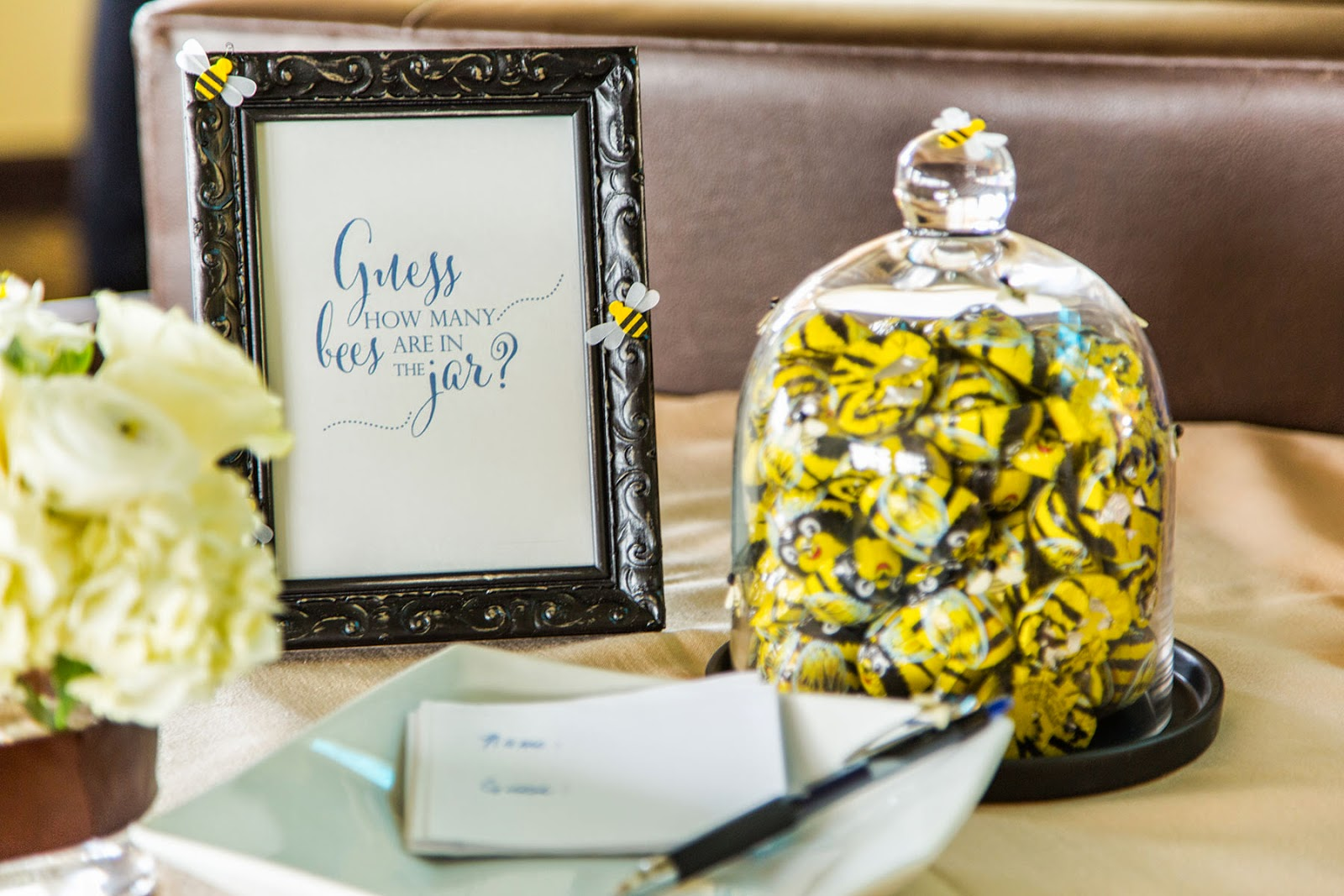 Youre Welcome Events A Bumble Bee Baby Shower
