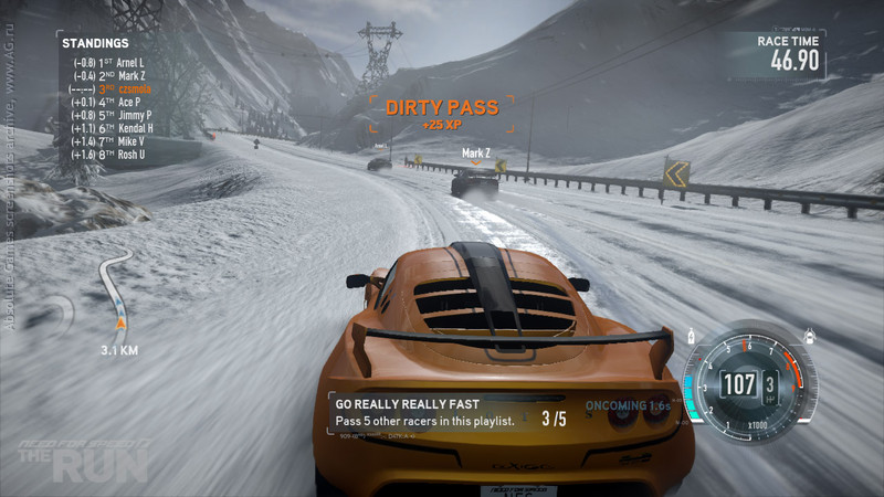 Need for speed характеристики