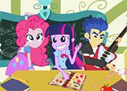 Equestria Girls travesuras en la escuela juego