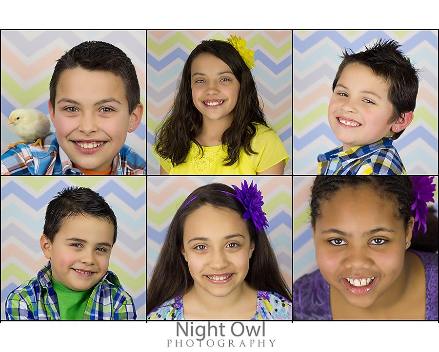 Children's Professional Easter Portraits